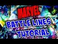 MARVEL Battle Lines - Full Tutorial (With Commentary)