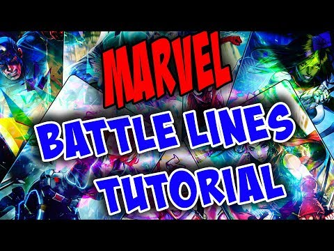 MARVEL Battle Lines - Full Tutorial (With Commentary) Mp3