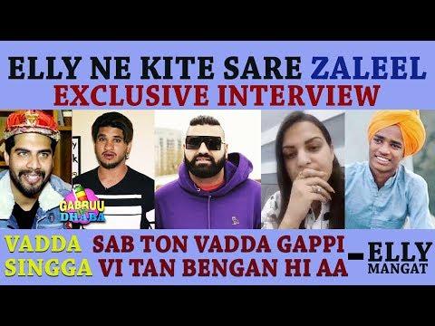 Fer bhadkea Elly Mangat | Exclusive Interview Part 2 | Singga | Himanshi Khurana | Gabruu Da Dhaba