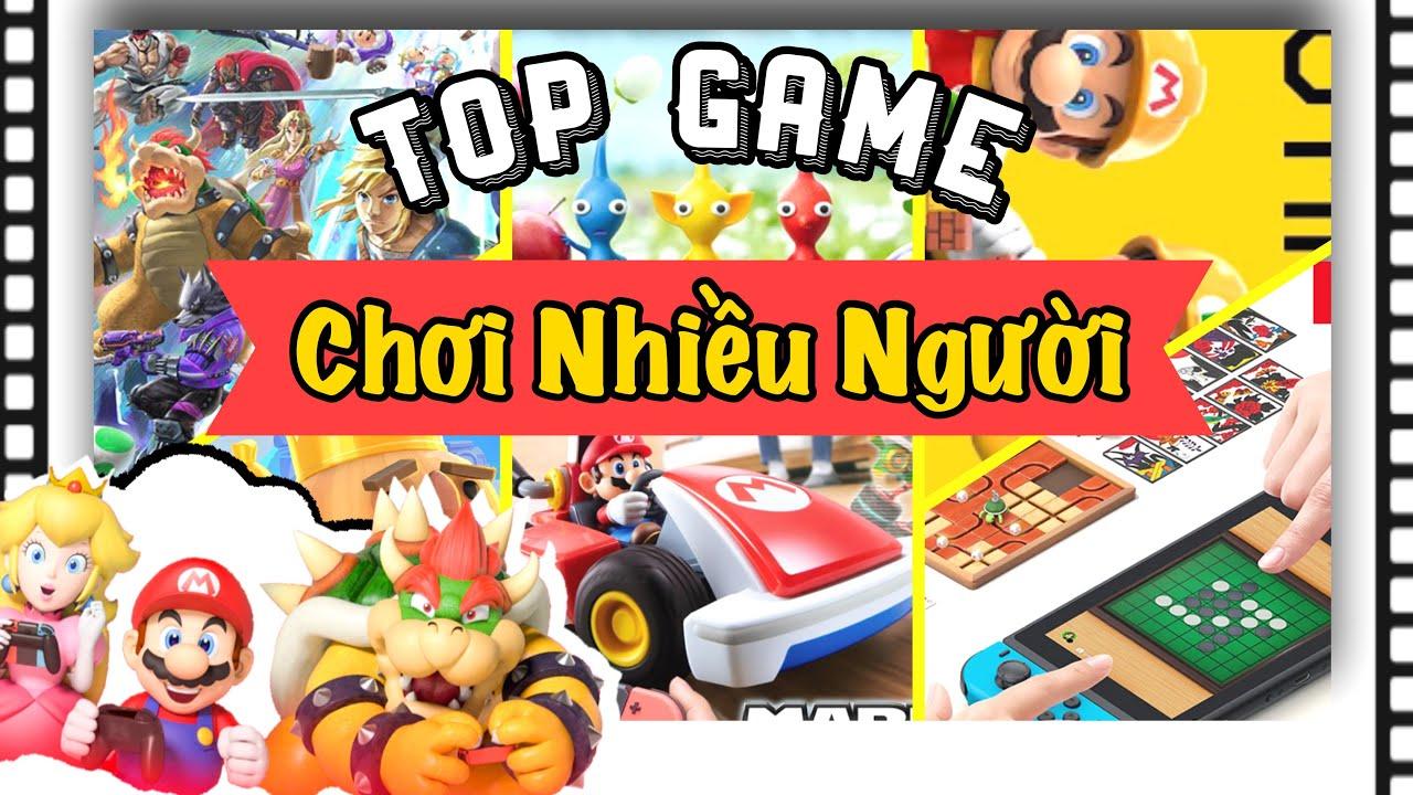 Game Nintendo Switch chơi gia đình nhiều người   Cùng chống dịch tại nhà với nShop - Games & Hobbies