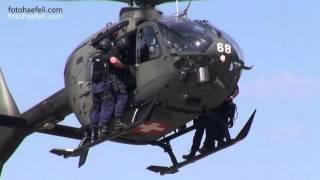 SwissHelicopter AG, Basis Pfaffnau, Sondereinheit «Luchs» der KaPo Luzern, Luftwaffe, Rega
