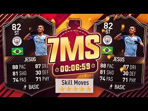 82 OTW GABRIEL JESUS 🔥 5* SKILLER!! 7 MINUTE SQUAD BUILDER - FIFA 17 ULTIMATE TEAM