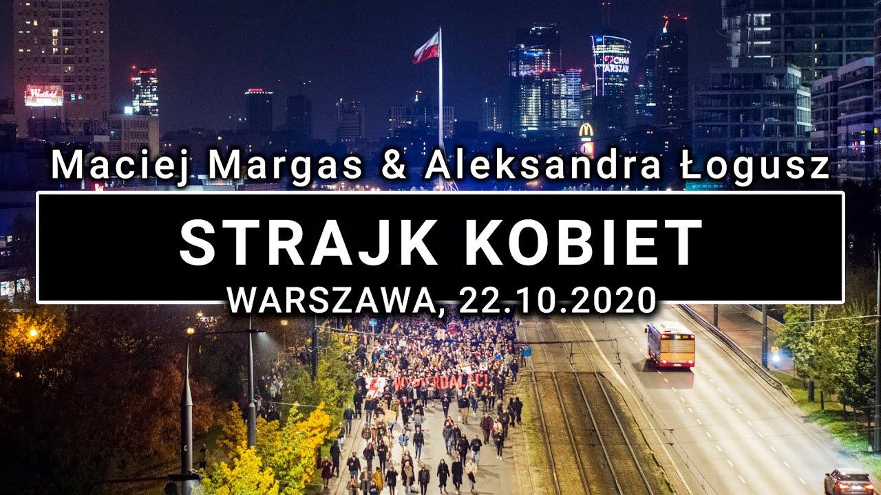 Strajk Kobiet Protesty w Warszawie - 22.10.2020 - | POLAND ON AIR by Margas & Łogusz