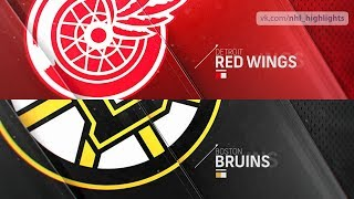 Detroit Red Wings vs Boston Bruins Oct 13, 2018 HIGHLIGHTS HD