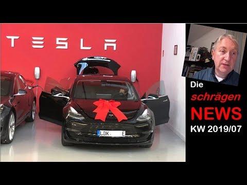 Tesla Auslieferungs-DAY in Deutschland, neue Grenzwerte (NEWS KW07/2019) | nextmove