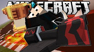 Minecraft | I CRASHED SO BAD!! | Turbo Kart Racers Minigame