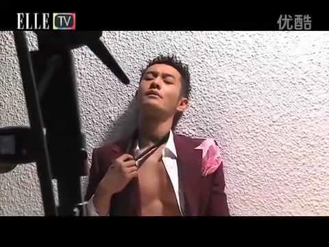 Huang Xiaoming 黄晓明: Magazine shooting for ELLEMEN