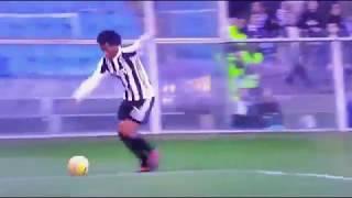 Tapadon!!! con la espalda, disparo de Cuadrado Sampdoria vs Juventus