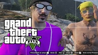 GTA 5 ONLINE - Selfie do Massacre da Vila da Bilada!!! (GTA V Online Gameplay)