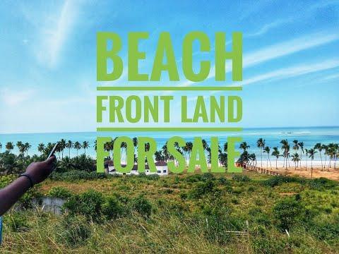 🏖️Amazing Beach Front Land In Brenu Akyinim For Sale $8K (40 Mins Drive from Cape Coast)
