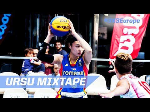 Sonia Ursu (ROU) - Mixtape - Andorra - 2016 FIBA 3x3 European Championship Qualifier