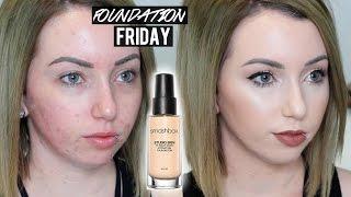 SMASHBOX STUDIO SKIN FOUNDATION New Shades & Formula | First Impression Review on Acne/Pale Skin