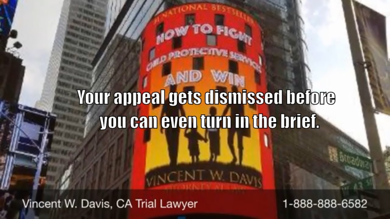 Your appeal gets dismissed before you can even turn in the brief