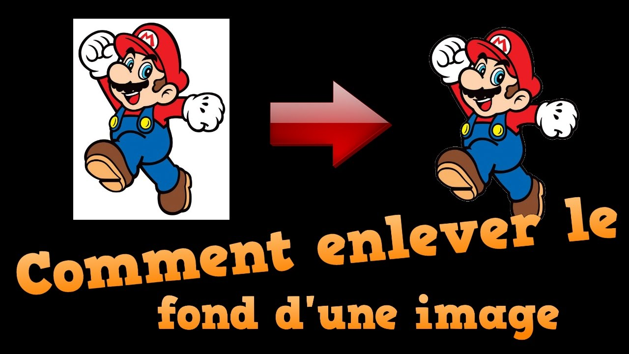 Tuto Comment Enlever Le Fond D Une Image Sans Logiciel Youtube