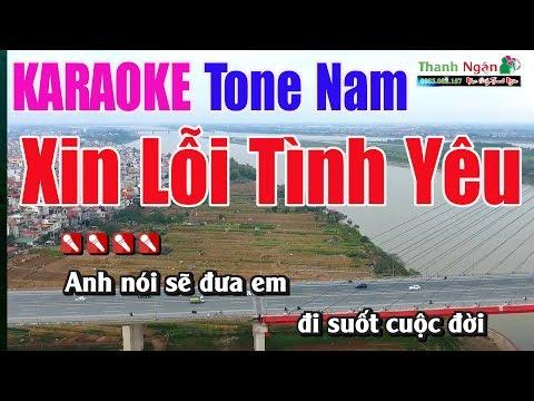 xin-lỗi-tình-yêu-karaoke-8795-|tone-nam---nhạc-sống-thanh-ngân