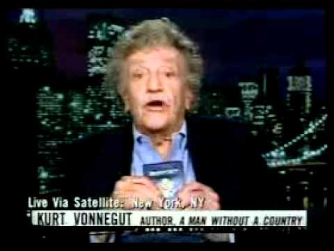 Kurt Vonnegut interviewed after Katrina.