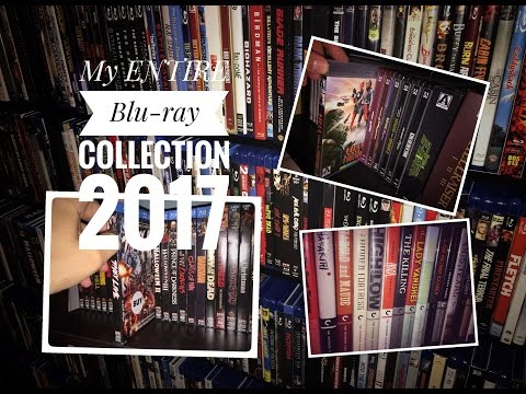 My ENTIRE Blu-ray Collection 2017 (Criterion, Scream Factory, Arrow Video, Disney/Pixar)