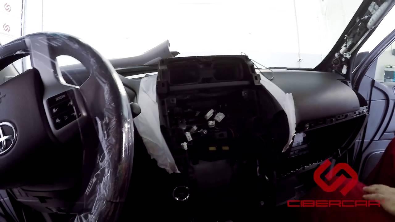 Как разобрать Toyota Land Cruiser Prado 150 для установки KiberLink NAVITOUCH