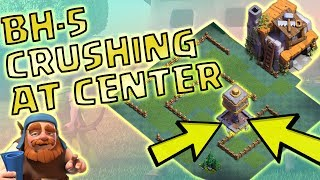 BH-5 CENTER WITH CRUSHER | BH-5 BEST BASE DESIGN 2017 | CLASH OF CLANS