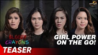 The Daring Girls of 'Bloody Crayons' | 'Bloody Crayons' | Supercut Teaser