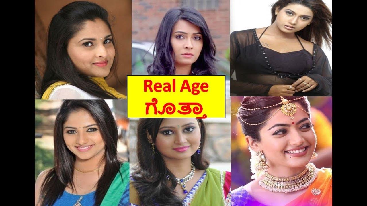 Kannada Actress Real Age Kannada Top Heroines Age Sandalwood