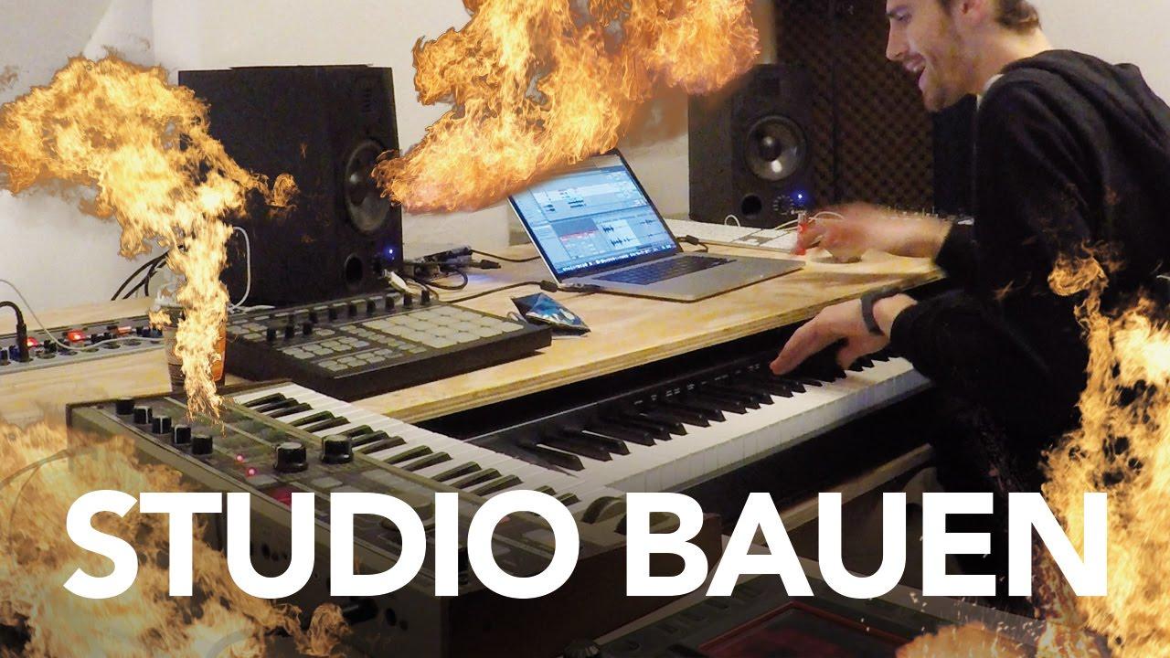 Tonstudio bauen - Heimwerkerking Fynn Kliemann - YouTube