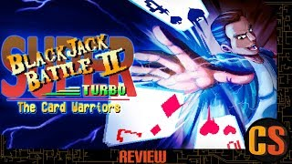 SUPER BLACKJACK BATTLE 2 TURBO EDITION - THE CARD WARRIORS - PS4 REVIEW