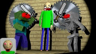 Monster School : KILL BALDI CHALLENGE PART 1