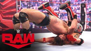 Drew McIntyre vs. Riddle vs. AJ Styles – Last Chance Triple Threat Match: Raw, June 28, 2021