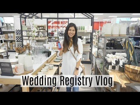 Wedding Registry Vlog