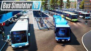 FIRST LOOK: NEW MASS TRANSIT SIMULATOR $1,000,000 BUS COMPANY | Bus Simulator 18 Gameplay