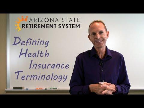 Health Insurance Terminology Defined - 2020 Version
