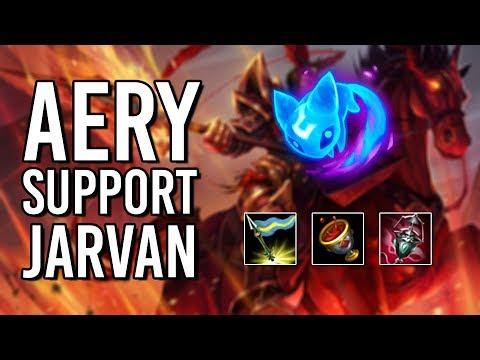 KiNG Nidhogg Stream Highlights 2: Aery Support Jarvan