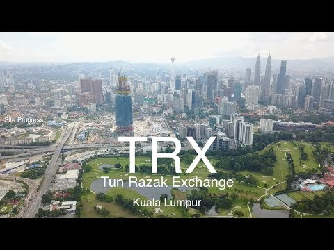 TRX MEGA Project - Tun Razak Exchange, Site Progress as 12.08.2017