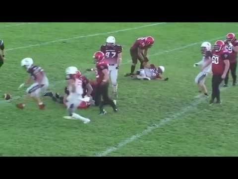 MMJFL Week 4 Transcona Nationals(7) vs St Vital Mustangs(43)