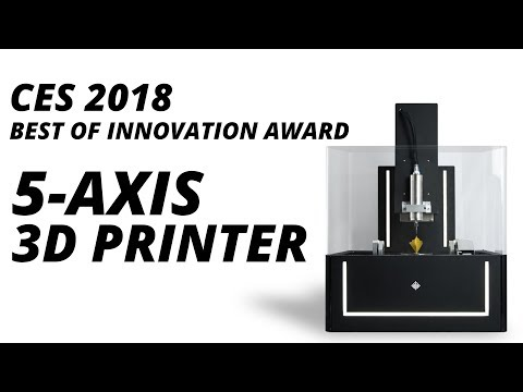 CES 2018: Bangalore Startup Wins CES Award For Unique 5 Axis 3D Printer