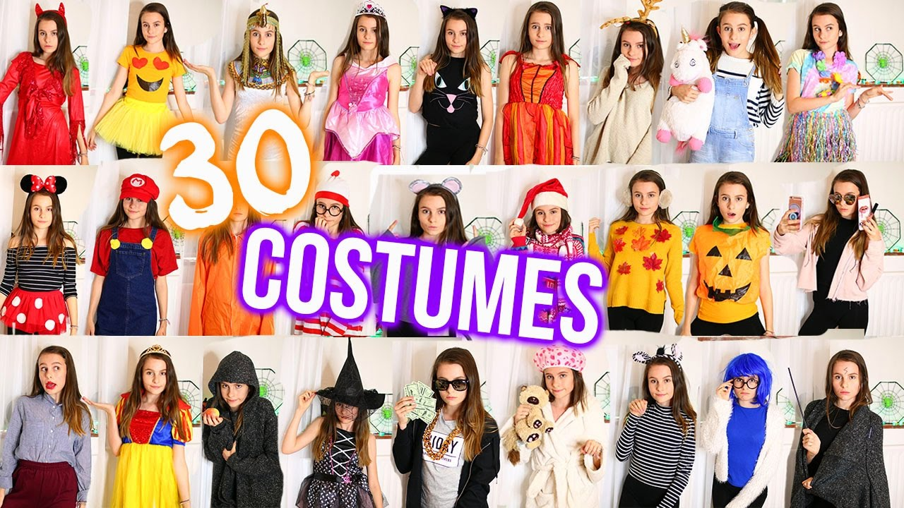 24+ DIY HALLOWEEN COSTUMES! Easy, Cheap and Last Minute /Lovevie