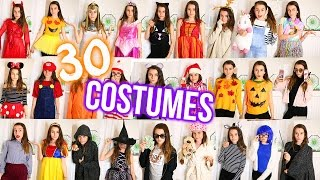 30+ DIY HALLOWEEN COSTUMES! Easy, Cheap and Last Minute /Lovevie
