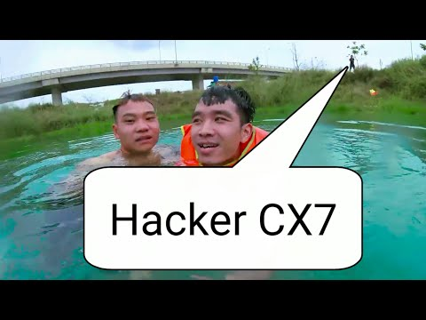 PHD Troll Đi Tắm Hồ Nước Xanh Ngọc || Hacker CX7 Ngồi Trên Bờ Giải Mã Tại Sao Hồ Xanh