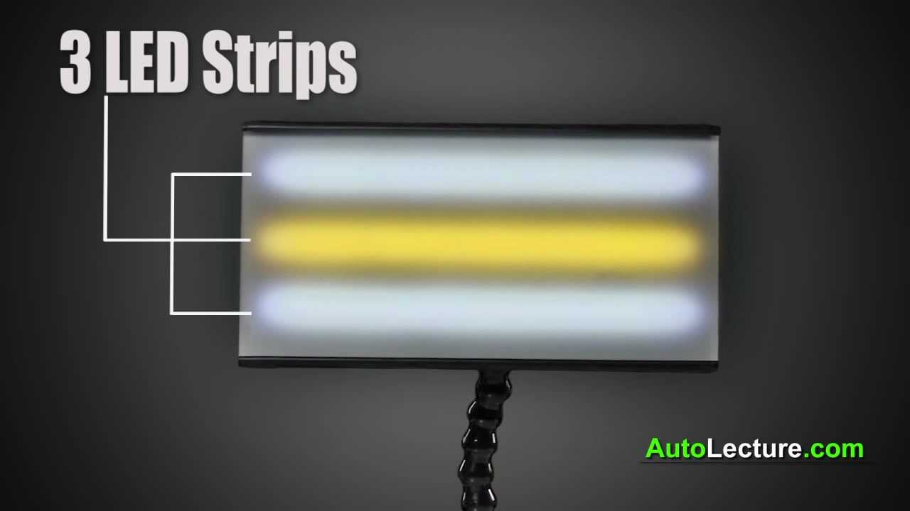 Paintless Dent Repair >> Mini LED PDR Light for Paintless Dent Repair / Removal Tools - YouTube