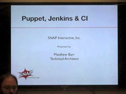 PuppetNYC Presents: Integrating Continuous Integration into your Puppet workflow using Jenkins