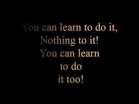 Learn to do it - lyrics