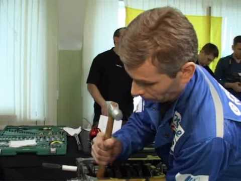 """Moscow competition of professional skill of  """"The fastest mechanic 2007""""."""