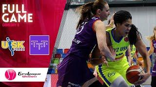 ZVVZ USK Praha v TTT Riga - Full Game - EuroLeague Women 2019-20