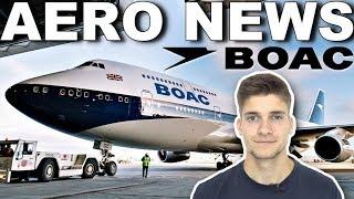 Eine besondere RETRO-747! AeroNews