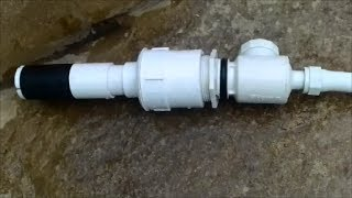 Polaris Quick Disconnect Threaded Fitting Stuck in  Pool Wall -Solution