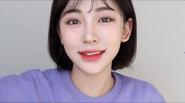 [ENG]5년은 어려보이는 동안메이크업 💜[ 코쉐딩 꿀팁] | How to look younger makeup