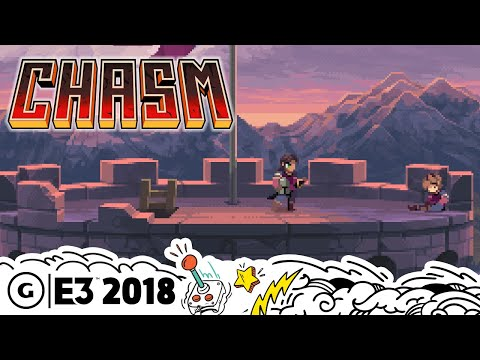 Chasm's Combat and World are Very Castlevania | The MIX E3 2018