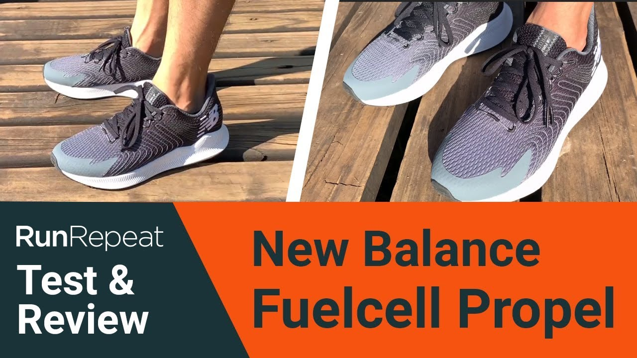 New Balance Fuelcell Propel test