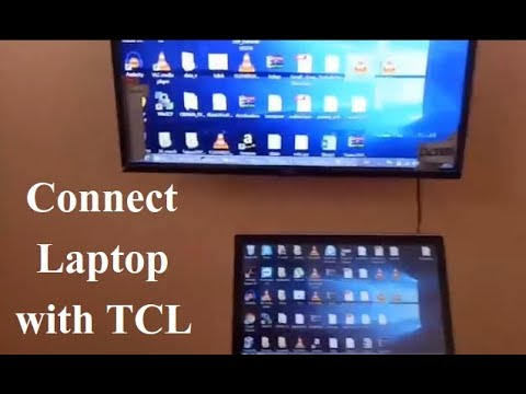 Connect Laptop with TCL smart TV